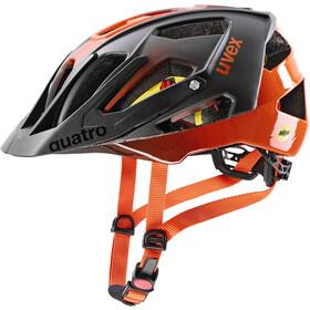 UVEX Quatro CC MIPS Helm titan/orange